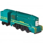 Locomotiva Shane cu vagon, Thomas Adventures, Fisher Price, FJP52