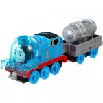 Locomotiva Thomas cu vagon, Misiune Spatiala, Thomas Adventures, Fisher Price, DXT44