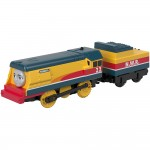 Locomotiva Rebecca cu vagon, Thomas Trackmaster, Fisher Price, GDV30