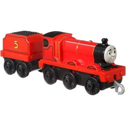 Locomotiva James, Thomas And Friends, Push Along, Fisher Price, FXX21