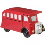 Locomotiva Autobuz Bertie, Thomas And Friends, Push Along, Fisher Price, FXX09