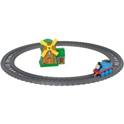 Set Locomotiva Thomas, Moara, Sine, Thomas And Friends, Push Along, Fisher Price, GFF09