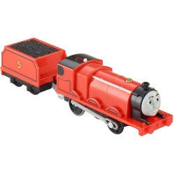 Locomotiva cu vagon James, TrackMaster, Thomas and Friends, Fisher Price, BML08