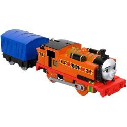 Locomotiva Nia cu vagon, Thomas And Friends, TrackMaster, Fisher Price, FXX47