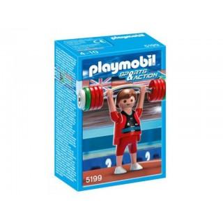 Halterofil olimpic Playmobil