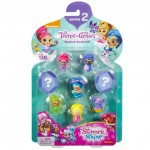 Set Mini Figurine, Shimmer si Shine, Fisher Price, 8 buc, FCY70