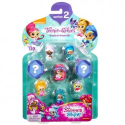 Set Mini Figurine, Shimmer si Shine, Fisher Price, 8 buc, FCY66