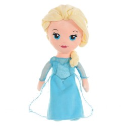 Papusa plus, Elsa, Frozen, Famosa, 30 cm, 71057