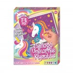 Set de facut unicorn sclipitor, 80 paiete, Creative Kids, 77588