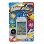 Telefon pentru copii, alb, UnikaToy, 911966