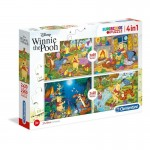 Puzzle, Winnie the Pooh, 160 piese, Clementoni, 07618