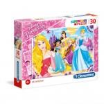 Puzzle, Printesele Disney, Clementoni, 30 piese, 08503
