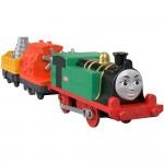 Locomotiva Gina cu 2 vagoane, Thomas Trackmaster, Fisher Price, GDV33